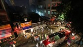 Lực lượng Cảnh sát PCCC TP Đà Nẵng dập tắt đám cháy