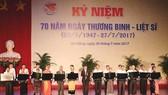 Đà Nẵng: Long trọng tổ chức kỷ niệm 70 năm Ngày Thương binh - Liệt sĩ