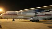 Máy bay Nga chở hàng cứu trợ đã đến Cam Ranh