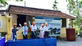 Lễ khởi công công trình tu bổ, chống xuống cấp nhà vườn Phủ thờ Công chúa Ngọc Sơn