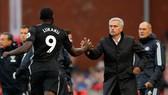 Jose Mourinho tin rằng đang phát triển Man.United đúng hướng. Ảnh: Getty Images