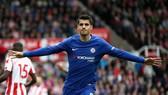 Alvaro Morata đã có trận đấu thật sự thăng hoa. Ảnh: Getty Images
