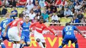 Keita Balde (giữa) có thể thay thế vị trí của Radamel Falcao trong đội hình của AS Monaco. Ảnh: Getty Images