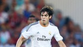 Kaka đã trải qua nhiều khó khăn khi chơi cho Real. Ảnh Getty Images