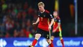 Tiền vệ Kevin de Bruyne là nhân tố rất quan trọng của tuyển Bỉ. Ảnh: Getty Images