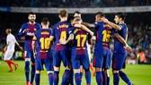 Barca sẽ bước vào chặng đường khó khăn tới đây. Ảnh Getty Images