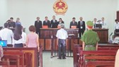 Phiên tòa xét xử sơ thẩm bị cáo Nguyễn Khắc Thủy  