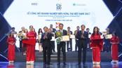 Ông Đoàn Hồng Việt  nhận giải thưởng
