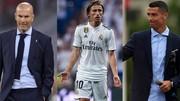 Zidane, Modric và Ronaldo