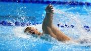 Kình ngư Nguyễn Huy Hoàng xuất sắc giành tấm HCĐ lịch sử cho bơi lội nam Việt Nam ở Asiad 2018. Ảnh: DŨNG PHƯƠNG