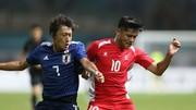 Nhật Bản giành chiến thắng khít khao trước Nepal. Ảnh: DŨNG PHƯƠNG