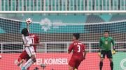 Cuộc so tài giữa Việt Nam và UAE tạ ASIAD 2018. Ảnh: DŨNG PHƯƠNG