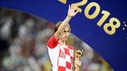 Modric chỉ trích trọng tài. Ảnh: Getty Images