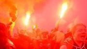 Cac fan Napoli và Inter quậy phá