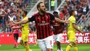 Gonzalo Higuain  chơi tốt ở Serie A.