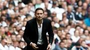 Frank Lampard trên băng ghế HLV Derby County mùa qua.