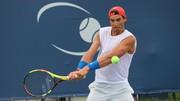 Nadal trong buổi tập mới nhất