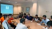 Đại diện các đội tại buổi họp kỹ thuật. Ảnh: Đoàn Nhật