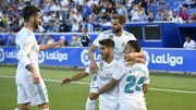 Real có được 3 điểm nhờ vào tỏa sáng của Ceballos (24). Ảnh: Getty Images