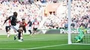 Romelu Lukaku ghi bàn thắng quyết định. Ảnh: Getty Images