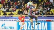 Tiền đạo Radamel Falcao (trái) sẽ trở lại trong cuộc đón tiếp Caen với hy vọng sẽ giúp AS Monaco tìm lại chiến thắng. Ảnh: Getty Images