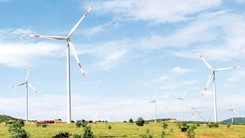 Turbines of a wind power plant in Vietnam (Photo: SGGP)