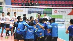 Sanest Khánh Hòa giành HCV môn bóng chuyền nam Đại hội TDTT toàn quốc 2018.