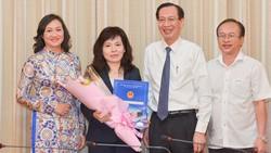 Bà Huỳnh Thị Thanh Hiền giữ nhiệm vụ Phó Giám đốc Sở Tài Chính. Ảnh: VIỆT DŨNG