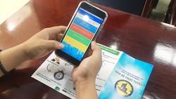 Người dân Nhà Bè phản ánh vi phạm trật tự đô thị qua smartphone