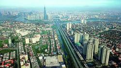 Ngắm thành phố lung linh từ trên cao