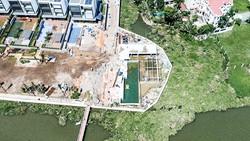 """Hành lang ven sông Sài Gòn đang bị """"bóp nghẹt"""""""