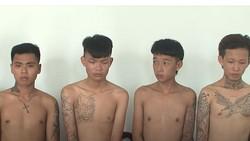 Video truy bắt nhóm đối tượng giết người tại Huế