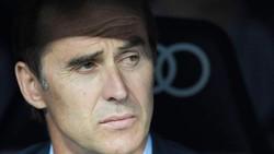 HLV Lopetegui có khởi đầu tệ nhất trong tất cả HLV Real kể từ thời Michael Keeping. Ảnh: Getty Images