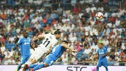 Bale ghi bàn đưa Real đến chiến thắng. Ảnh: Getty Images