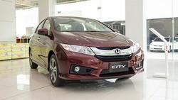 Honda City - mẫu Sedan đang rất hot của Honda.