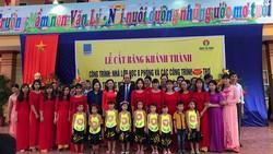 PVCFC tài trợ xây trường mầm non tại Hà Nam