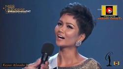 Đại diện Việt Nam - H'Hen Niê vào Top 10 Hoa hậu Hoàn vũ 2018