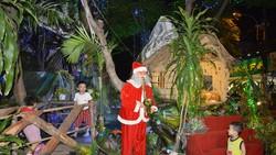 Các xóm đạo ở quận Gò Vấp trang hoàng đón Giáng sinh Ảnh: ĐỨC TRUNG