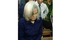 Bị cáo Nguyễn Thị Kim Xuyến. Ảnh: VOV