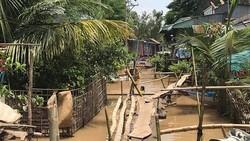 Triều cường và lũ ở hạ lưu sông Sài Gòn lại lên