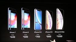 iPhone XS, XS Max, XR ra mắt: Camera và pin tốt hơn, có bản 2 SIM