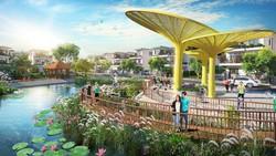 Giá chênh lệch 15-30%, nhà ở ven sông hồ vẫn hút khách