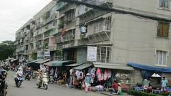 Nhiều block trong cụm chung cư Thanh Đa (Bình Thạnh) nằm trong Chương trình cải tạo, di dời chung cư cũ xuống cấp của TPHCM. ẢNH: ĐỖ TRÀ GIANG