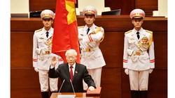 Quốc hội đã bầu ông Nguyễn Phú Trọng - Tổng Bí thư Ban Chấp hành Trung ương Đảng giữ chức vụ Chủ tịch nước CHXHCN Việt Nam nhiệm kỳ 2016-2021