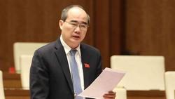 Đồng chí Nguyễn Thiện Nhân, Bí thư Thành ủy TPHCM. Ảnh: TTXVN