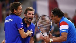 Niềm vui chiến thắng của tuyển Pháp