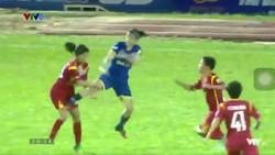 Nữ TKS Việt Nam tấn công nữ TPHCM I