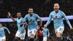 Man City - Man United 3-1: Silva, Aguero, Gundogan giúp Pep Guardiola tiếp tục hạ Mourinho