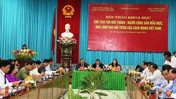 Chủ tịch Tôn Đức Thắng - Người cộng sản mẫu mực, nhà lãnh đạo nổi tiếng của cách mạng Việt Nam