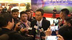 Phó chủ tịch phụ trách chuyên môn Trần Quốc Tuấn. Ảnh: MINH HOÀNG